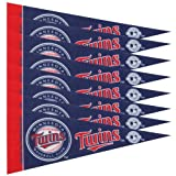 Minnesota Twins 8 Piece Mini Pennant Set