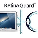 RetinaGuard Anti-UV, Anti-blue Light Screen protector for Macbook Air/Pro 13' - SGS & Intertek Tested - Blocks Excessive Harmful Blue Light, Reduce Eye Fatigue and Eye Strain