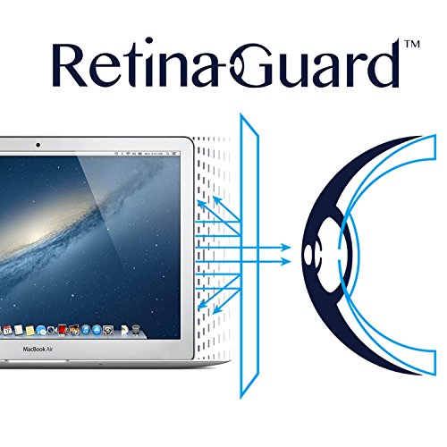 RetinaGuard Anti-UV, Anti-blue Light Screen protector for Macbook Air/Pro 13