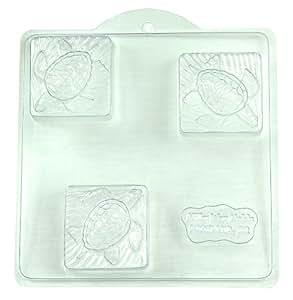 Sea Turtle Plastic Soap Mold