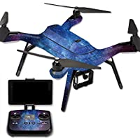 MightySkins Protective Vinyl Skin Decal for 3DR Solo Drone Quadcopter wrap cover sticker skins Nebula