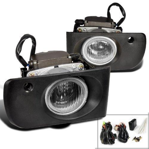 Spec-D Tuning LF-INT94COEM Acura Integra Ls Rs Gs Clear Oem Style Fog Lights
