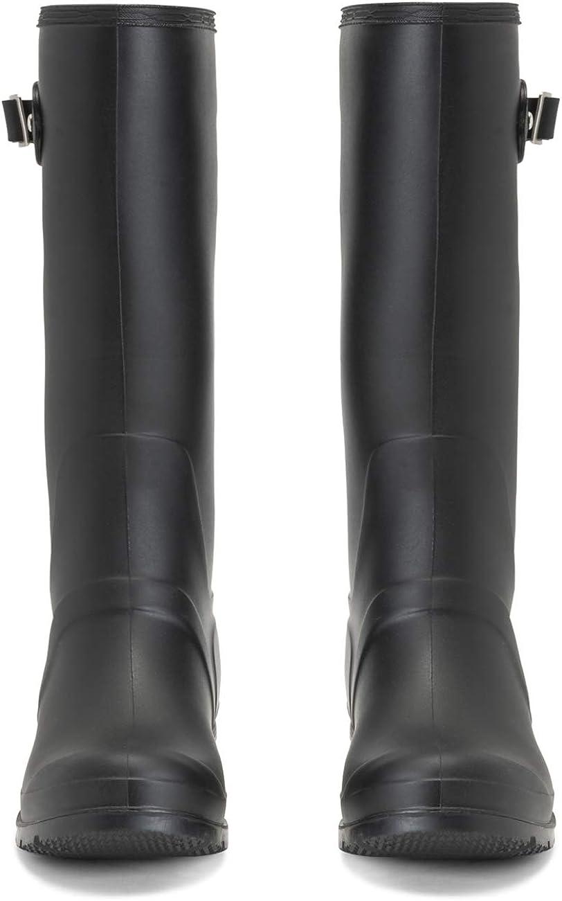 Womens Original Tall Side Buckle Dog Walking Snow Rain Waterproof Wellington Boot
