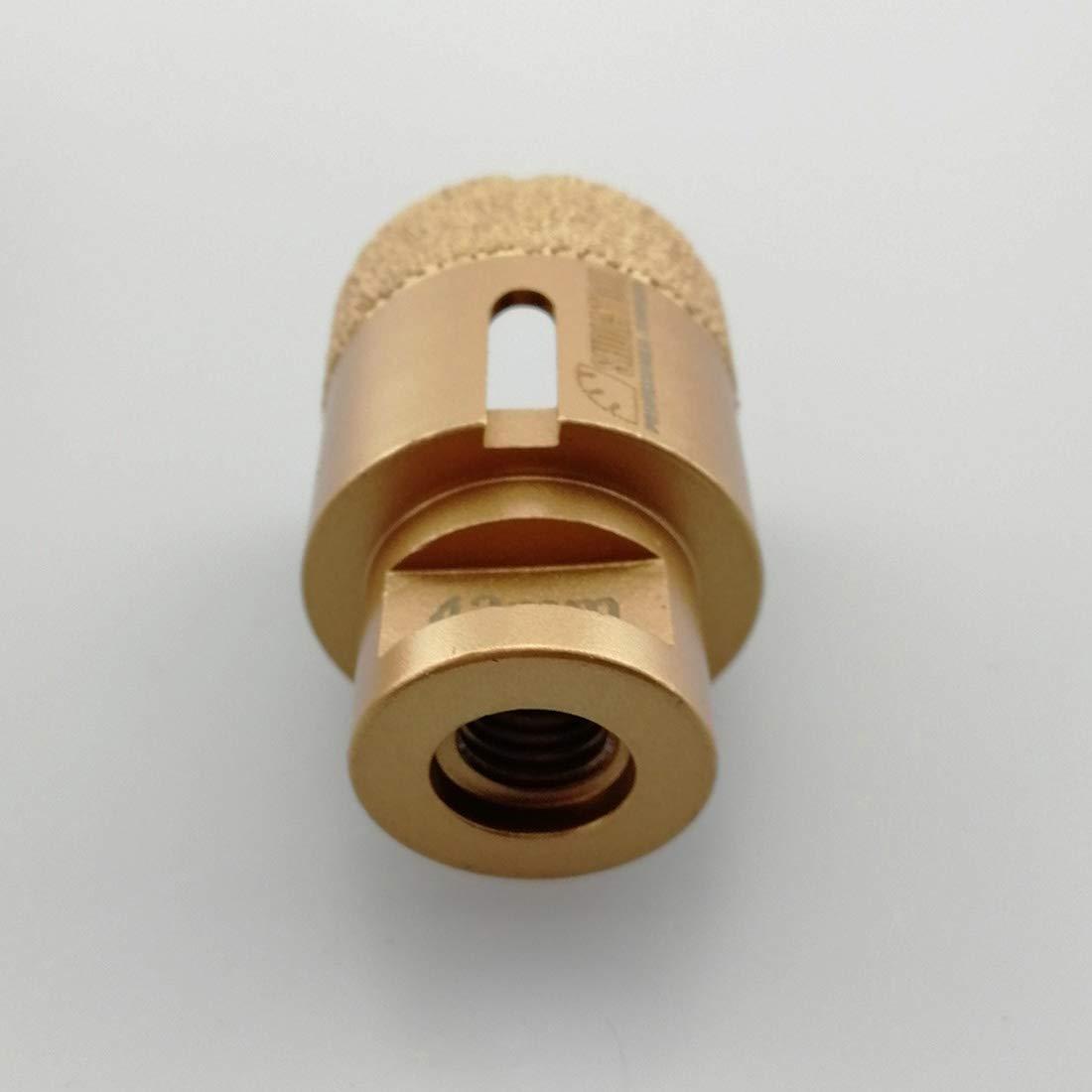 SHDIATOOL Broca de Diamante 55MM Vac/ío Soldadura para Perforaci/ón en Seco Porcelana Azulejo Granito M/ármol M14