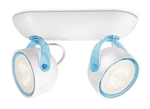 38 opinioni per Philips 532323516 Dyna Lampada con 2 Faretti a LED, Blu