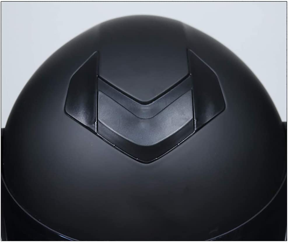 Betrothales Flip-Flop Moto Casco Integral Casco Moto Casco Ligero Moto Scooter Flip Modular Cruiser Chopper Colisi/ón Casco Doble Disco Con Visor Solar Punto Certificaci/ón S M L Xl