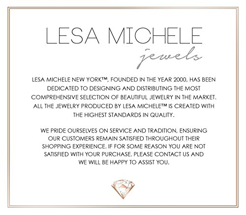 Lesa Michele Cubic Zirconia 3 pair Stud Earring Set in Sterling Silver by Lesa Michelle (Image #4)