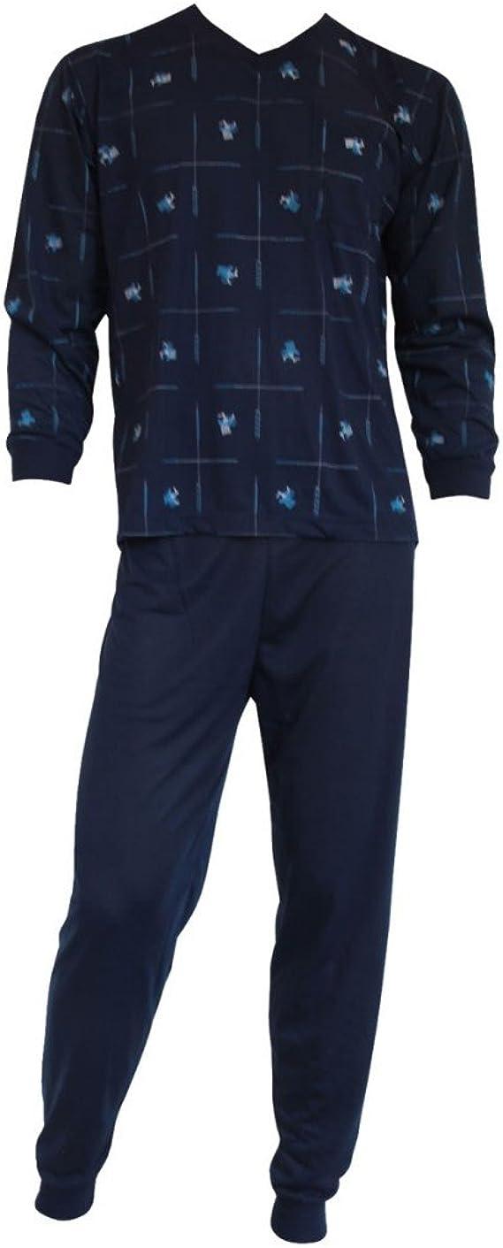 Nachtwäsche 2-Teiler Freizeit Pyjama-Set 2678 Herren Pyjama Schlafanzug