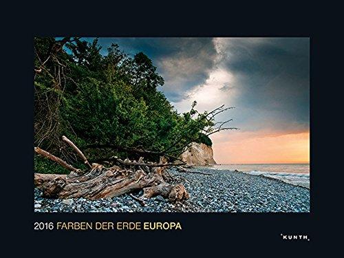 KUNTH Kalender Die Farben der Erde: Europa 2016 (KUNTH Wandkalender Black Edition)