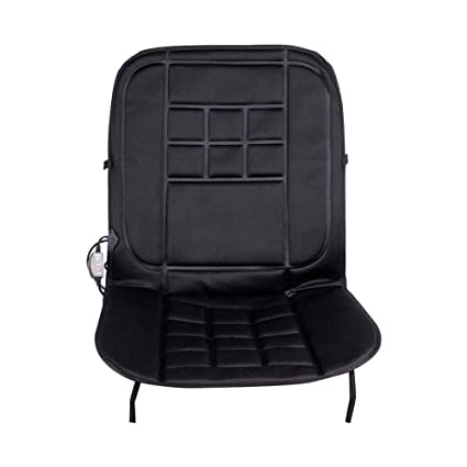Amazon Com Ibaste A 08 Car Heated Seat Cushion With Lumbar Support