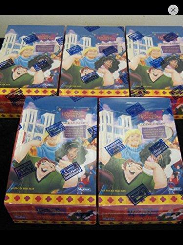 (1) Box 1996 Disney's Hunchback of Norte Dame Unopened Trading Cards Box Non-sport Unopened Full Box of (36) Packs