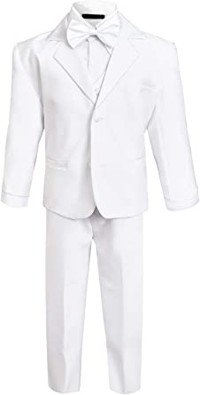 Baby Tuxedo Boys Classic Dinner Jacket Tuxedo with Vest 9 to 24 Months