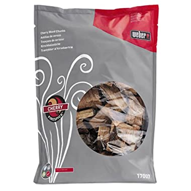 Weber 17007 Cherry Wood Chunks, 5-Pound