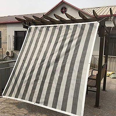 L.TSN Malla de Malla para Sombra Malla de Sombra para pérgola al Aire Libre, índice de Sombra 95% Tela de protección Solar a Prueba de Polvo y Viento, para balcón de Techo