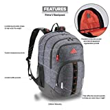 adidas Unisex Prime Backpack, Black Jersey/ Active