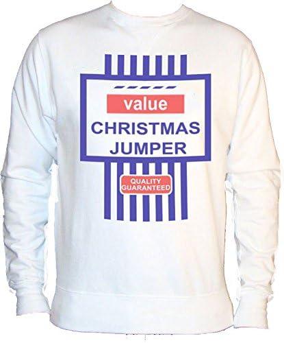 TESCO FINEST VALUE CHRISTMAS JUMPER SWEATSHIRT