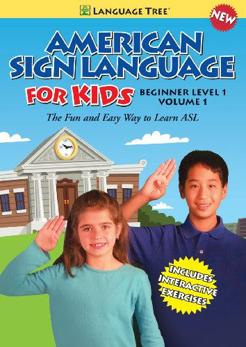 (American Sign Language for Kids: Learn ASL Beginner Level 1, Vol. 1)