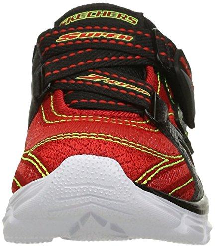 Skechers Kids Advance Athletic Sneaker (Little Kid), Rot / Schwarz