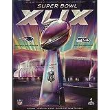 "Super Bowl 49 XLIX Program ""Stadium"" Holographic Cover 2015 Superbowl Arizona"