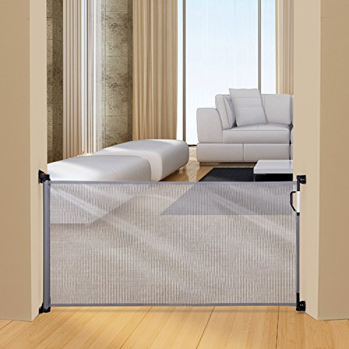 Dreambaby Retractable Gate, Grey by Dreambaby (Image #1)