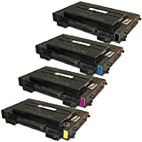 LD © 4 Compatible Laser Toners 1(Bk,C,M,Y) for use in Samsung CLP510 printers, Office Central
