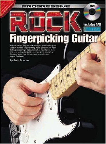 Fingerpicking Rock - Progressive Rock Fingerpicking Guitar Method (CD Edition)