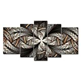 5 Piece Wall Art Painting Swirls Pictures Prints On Canvas Abstract The Picture Decor Oil For Home Modern Decoration Print For Decor Gifts
