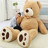 Valentine day Gifts New Year Stuffed Animals Gian Big Teddy Bears Huge Size 200cm Giant Bear Skin Empty Soft ToysSuper Quality Plush Gifts Toys for Lovers By Gangnumsky