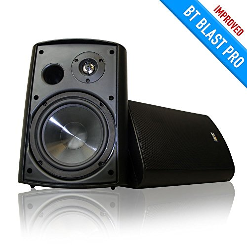 Sound Appeal Wireless Bluetooth Weatherproof Speakers (Black, 6.50 Inch, Pair) Top Offers