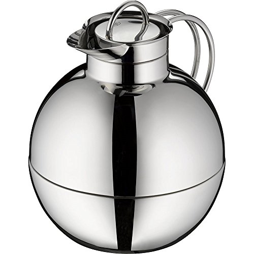 alfi Kugel Glass Vacuum Polished Thermal Carafe for Hot and Cold Beverages, 0.94 L, Stainless Steel by Alfi (Image #4)