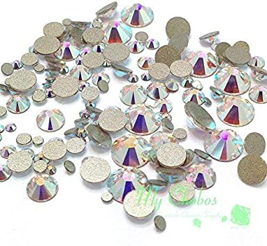 115 Colours Pack of 50 SS20 Swarovski Flat Back Crystals 2088 Rhinestones Gems