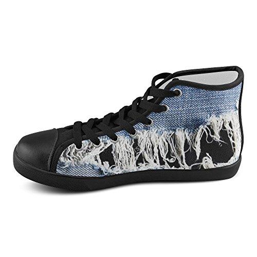 Jeans Personalizzati D-story Con Scarpa Sneaker Da Uomo