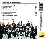 Mozart: Serenade in B flat Major, KV 361 'Gran Partita', Fantasia in F minor KV 608