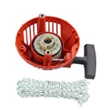 Dalom 576368301 Recoil Starter Assembly w Rope for Husqvarna Husky Trimmer 128C 128CD 128LD 128LDX 128R 128RJ 128DJX Weedeater