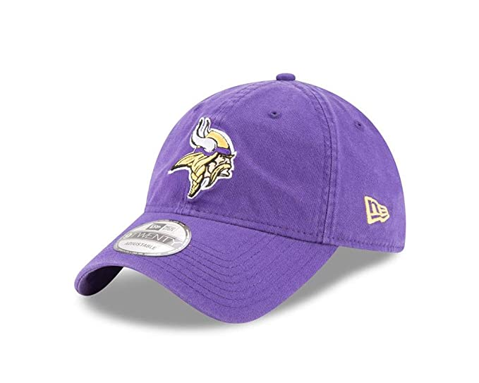 ff1e4c2b4 Amazon.com  New Era Men s Minnesota Vikings 9TWENTY Core Purple Hat ...