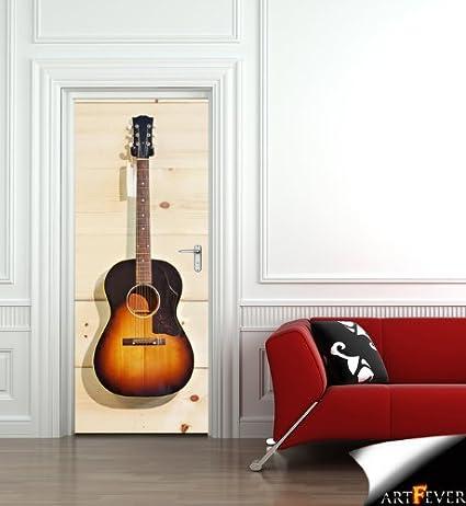 DS35 – extraíble papel pintado para puerta de un sunburst acústica ...