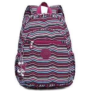 Oakarbo Backpack Small Mini Junior School Bag Cute Nylon Travel Daypack (1318H #10)