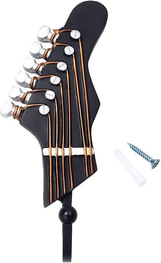 Gaza de imp Cabeza de Guitarra Gancho de Pared música decoración ...