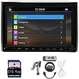 Une caméra de recul gratuit! 2 Go 16 Go Android simple Din voiture stéréo écran tactile tête Unité de soutien radio DAB Autoradio WIFI 3G / 4G Sat GPS Télécommande Bluetooth USB Nav SWC OBD2 Radio AM / FM