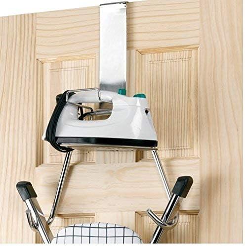 Polder Over The Door Ironing Board Hanger Holder T-Leg Ironing Board Chrome New