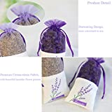 Ezeso 24pcs Sachet Empty Bags Purple Drawstring