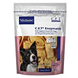 Virbac C.E.T. Enzymatic Oral Hygiene Chews, Large Dog, 30 Count