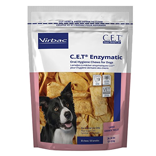 Virbac Enzymatic Hygiene Chews Large product image