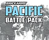 world war two weapons - BrickArms Pacific Battle Pack for World War 2 Minifigures -14 pc Exclusive Set