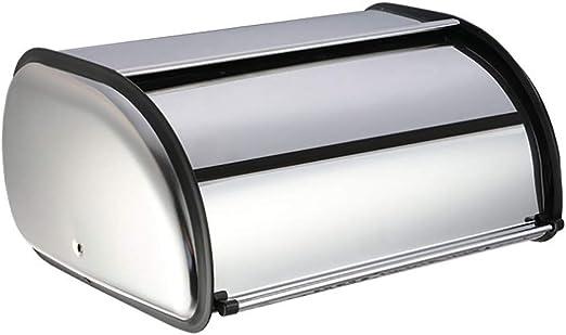 ZM Caja De Pan De Acero Inoxidable Caja De Almacenamiento De ...