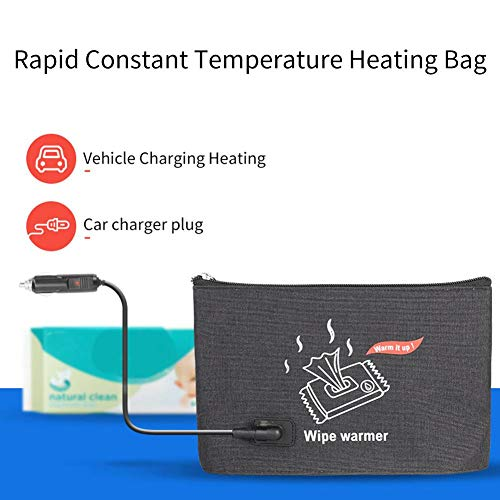 Car Wash Wipes Heater Heating Bag Baby Wipes Thermostat Portable Car Wipes Heater Warmer