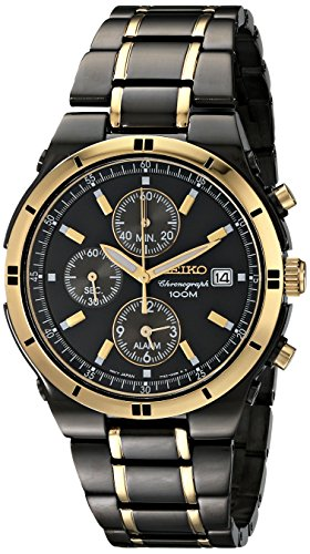 Seiko Men's SNAA30 Stainless Steel Two-Tone (Dress Two Tone Wrist Watch)