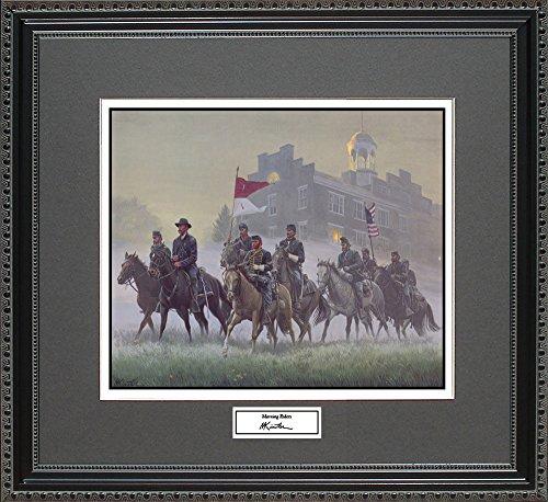 Mort Kunstler MORNING RIDERS Framed Wall Art Civil War Print, 18x16