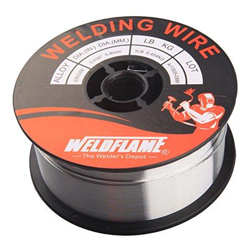 Weldflame ER5356 1-Pound General Purpose Aluminum Welding Wire 0.030 (Aluminum Welding Wire)