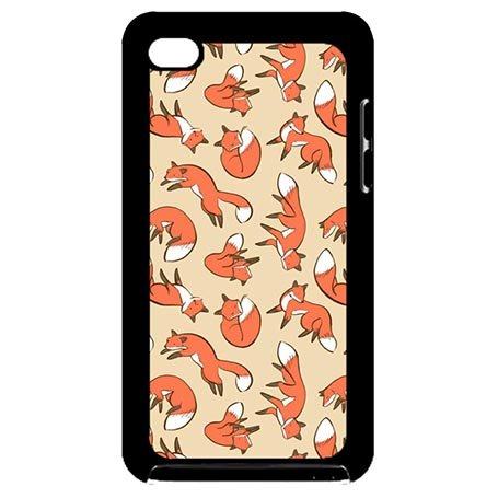 Individualized iPod Touch 4 Generation 4th Shell Cases Inspirational Fox Pattern
